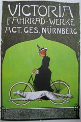 Vintage Bicycle Posters: Victoria Fahrrad-Werke (Mikael Colville-Andersen) Tags: art history bike bicycle vintage poster cycling graphicdesign victoria vlo lithograph bicyclehistory cyclechic copenhagenize fahrrd 100yearsofbicycleposters vintagebicycleposter victoriafahrradwerke