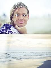 Vanessa Diptych (eduviero.com) Tags: presidente sea brazil vanessa praia beach water girl brasil mar am nikon diptych south salt brazilian edu rs d300 i viero
