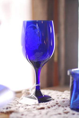 Blue Glass - McCordsville Mercantile