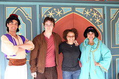 Aladdin, Adam, Me, and Jasmine