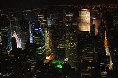 Empire City Lights (Xisco Serrano) Tags: new york city nyc light ny public buildings square lights avenida state manzana 5 manhattan library skylines center empire gran times rockefeller avenue metlife nueva eeuu