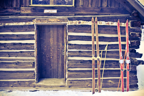 hut with skis (1 of 1)