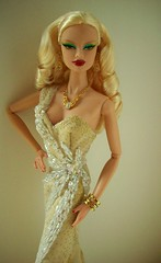 Glimmer  Me  Gold !!! (napudollworld) Tags: ireland fashion inspired wears gown miss universe veronique royalty 2010