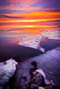 Utah Lake HDR—josephloren.com (joseph loren) Tags: sunset sky lake snow water clouds canon landscape frozen utah ut adobe 7d hdr provo 1022 lightroom 3xp photomatix utahlakesunset utahlakeice josephloren