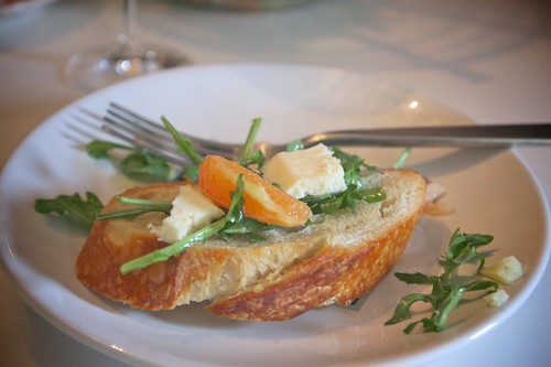 fontinella with salad