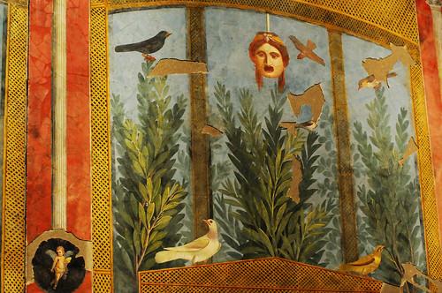 Pompeii Wall Garden Fresco, House of the Golden Bracelet