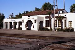 Pasadena Amtrak Station (Andy961) Tags: california ca railroad santafe station architecture train railway amtrak depot pasadena atsf missionrevival
