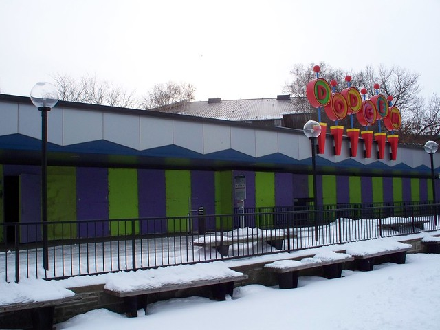 Cedar Point - Off-Season Dodgems