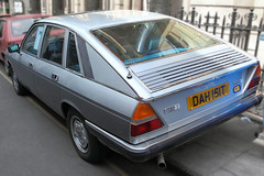 Lancia Gamma Berlina, Pininfarina, rear detail, c1979 (Chappells10) Tags: uk italy cars car vintage bristol italian pin photos unfound oldcars classiccars automobiles lancia thoroughbreds sportscars exotics carpics pininfarina carphotos bertone carshows italiancars rallycars voituresanciennes rarecars worldcars lanciagamma