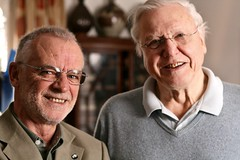With... Sir David Attenborough (Peter Denton) Tags: film television famous fame naturalhistory peter bbc writer denton wwf commentator octogenarian tvpresenter broadcaster naturalist davidattenborough canonef50mmf18mkii televisionpresenter canoneos400d arkive