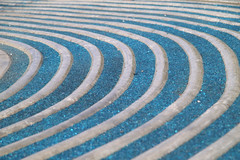 blue path (water travels down) Tags: abstract texture canon pattern curves canberra act 50d bluepath