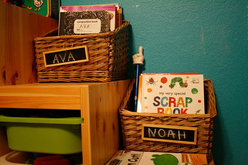 Workbook Baskets