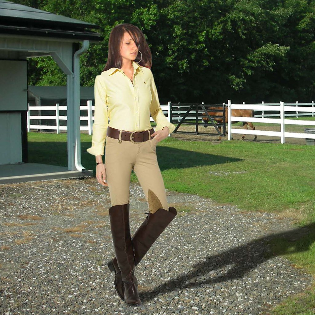 Riding Outfit   E  A Kelsee  E  A Tags Trees Horse Brown Hot Cute Sexy