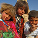 Inquisitive Bedouin children - Resafa