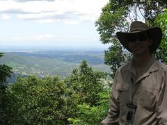 Neil at Mt Nebo
