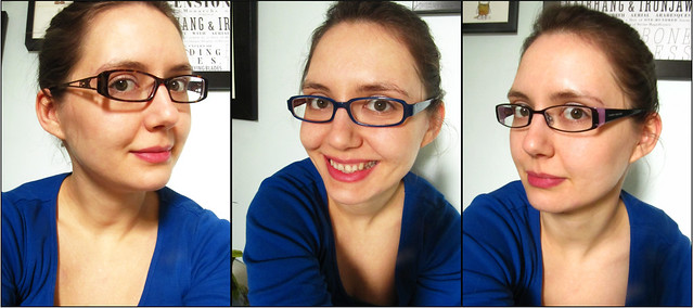 glasses triptych