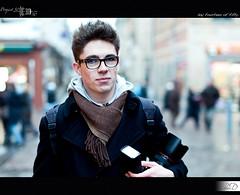 14|50 - The Photographer (HD Photographie) Tags: portrait project pentax bokeh explorer explore hd 50 clment projet herv caron k7 2011 dapremont hervdapremont project50|50