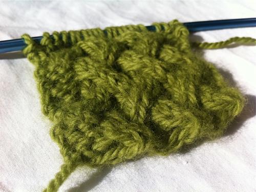 The Woven Lattice Stitch
