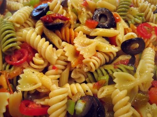 cold Italian pasta salad