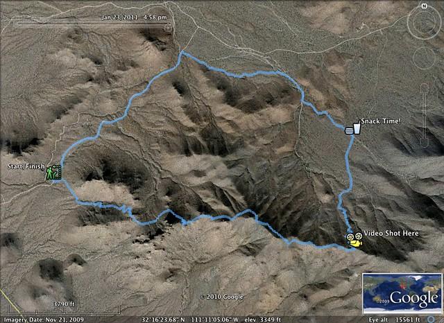 Hike 1-23-11