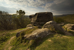 Froggatt Edge (andy_AHG) Tags: sunset rural outdoors evening spring rocks derwentvalley derbyshire peakdistrict scenic moors pennines darkpeak britishcountryside northernengland froggattedge landscapephotography beautifullandscapes easternedges