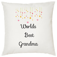 Worlds Best Grandma Decorative Cushion (Gallery Gifts) Tags: handmade homemadehandmade makeintheuk madeingb madeinbritain etsyselleruk uksmallbusiness wahm cushion decorativecushion photocushion photoonacushion personalisedcushion grandma gran granny grannie nan