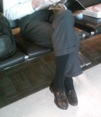 Older Gentleman 4 (mansoles) Tags: public professional loafers older airport attractive
