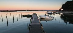A morning of stilness. (Per-Karlsson) Tags: bohusln bohuslan jetty boat mooring moorings sweden swedishwestcoast morning dawn pier stillness tranquility ard canoneos6d outdoor sea seascape