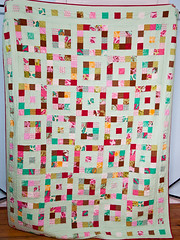 finished quilt (little girl quilts) Tags: quilt plume jellyroll tulapink konamint