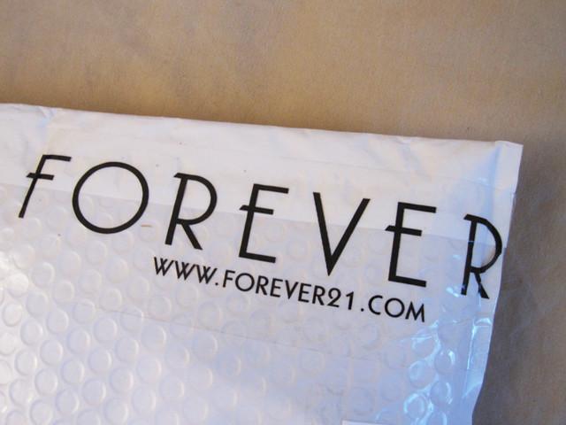 forever 21 Envelope