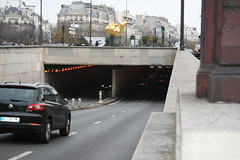 Place de l'Alma underpass Paris France (Richie Wisbey) Tags: paris france car wales lady underpass de dead death site al place princess crash under pass richie diana richard spencer dodi fayed wisbey l'alma parisfrancenovember2010