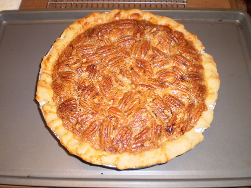 Pecan pie for Thanksgiving