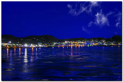 A Night in St. Kitts (Today'sAddiction) Tags: ocean sea vacation water night port lights caribbean stkitts