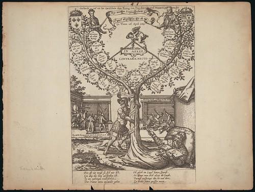 Stammbaum Ludwigs IX. Zum Anstand vom 26. April 1589.