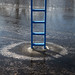 Inside/Outside: Eddee Daniel & Philip Krejcarek. Photo: E. Daniel.Iced Ladder
