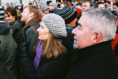 Bailout Protests Dublin Centre 27.11.10 (60) (Anthony Cronin) Tags: ireland analog superia protest protests protestors c41 irelanddublin bailout fuji irishlife street photography march crisis 200 dublinlife protest bank irish faces dublinirish protest streetsdublin dublinliving tpastreet dublinirelandnikonf8050mmf14d24mmf28danthonycroninanalogapug35mmfilmallrightsreservedirishphotographystreetsdublinstreetphotographystreetsofdublin 271110 antigovernment antieu antiimf irelands bailout photangoirl