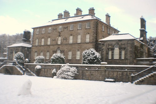 Winter at Pollock House