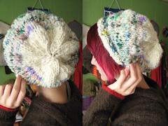 oh winter (vanessayavonne) Tags: wool hat handmade knit craft knitted earflap handspun nessaland