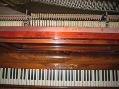 FOR SALE: Berlin Piano - keys top view (before restoration) (Ponyta!) Tags: music ontario berlin montral antique montreal victorian piano kitchener beethoven restored classical upright mozart musique vivaldi droit classique victorien restaur