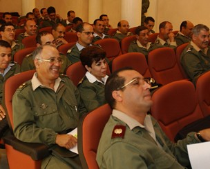 Moroccoan military officers undergoing training. The United States was exposed through the WikiLeaks website for its support for the Monarch in Rabat and its efforts to prevent independence for the Western Sahara. by Pan-African News Wire File Photos