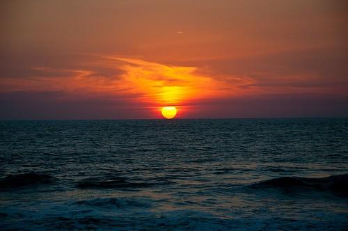 Ocaso en la playa (6)