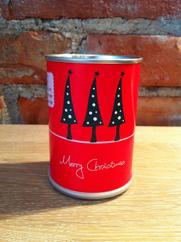 Juletre på boks