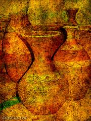 Mostra da olera de Buo (osolev) Tags: mostra espaa ceramica texture textura spain corua europa europe cs2 craft overlay ps galicia galiza layers horno espagne muestra barro textured spagna artesania forno jarron craftwork costadamorte acorua lacorua capas artesanos torno alfareria be