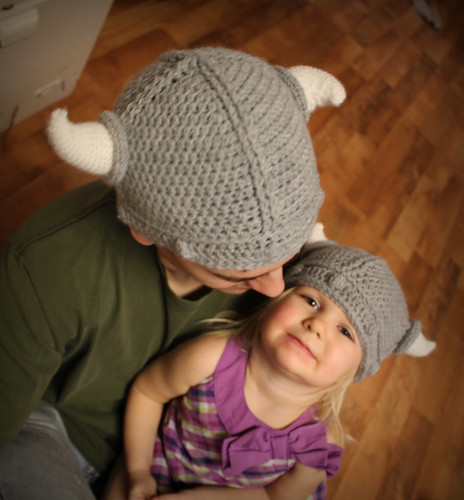 Viking Hat Knitting Pattern Free : New Crochet Pattern *Lael Viking Helmet* - mamacheemamachee