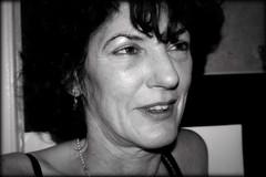 Portrait of a Woman (macushla63) Tags: portrait bw woman white black face portret zwart wit vrouw zw gezicht
