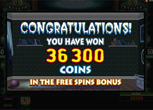 free Monsters In The Closet free spins feature 2