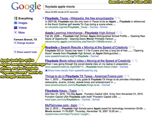 Floydada Apple Movie Google Search Results