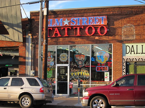 Elm Street Tattoo, Dallas, Texas