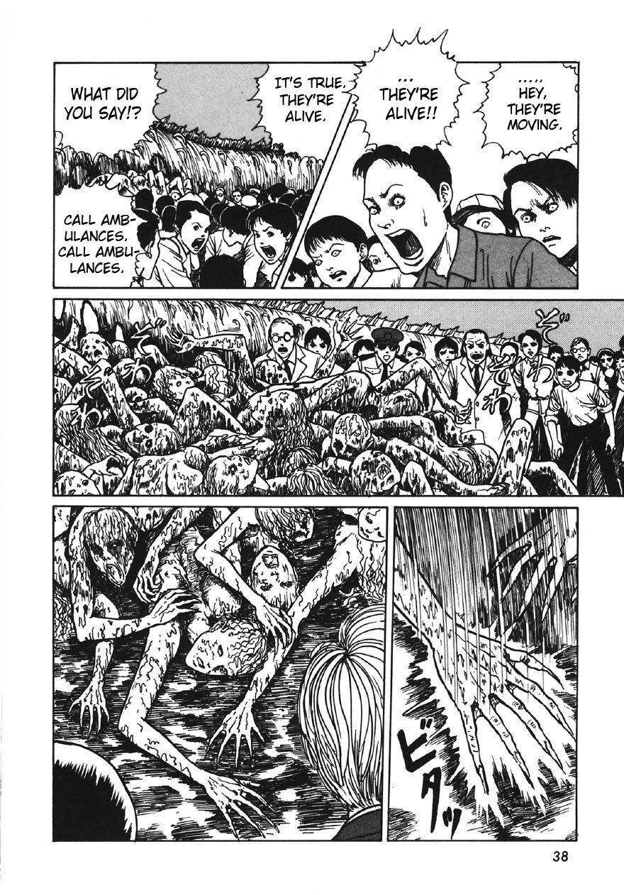 Junji Ito - Thing That Drifted Ashore 20