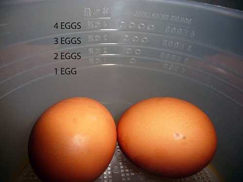 Half boiled eggs for dummies